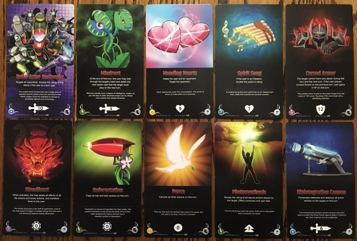 Galatune Action Cards