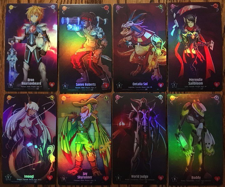 Galatune Champion Cards