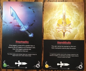 Galatune Frostenba vs Heroblade