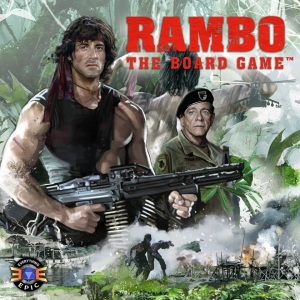 Rambo the Board Game Box Cover