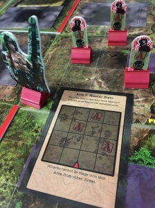 Rambo The Board Game Fog of War