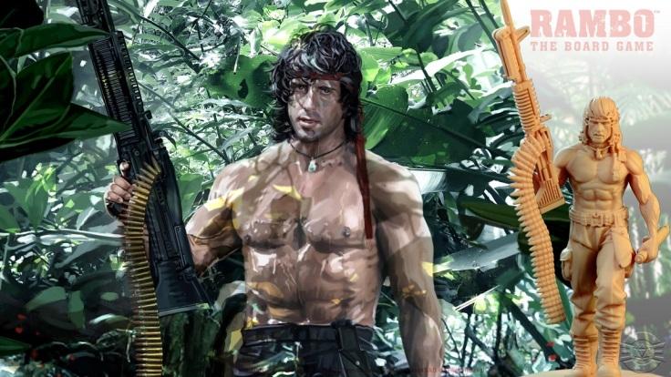 Rambo the Board Game Rambo Mini