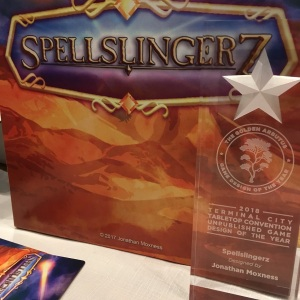 Terminal City Tabletop Convention - Spellslingerz - Golden Arbutus Winner