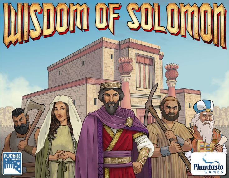 Wisdom of Solomon Cover Art