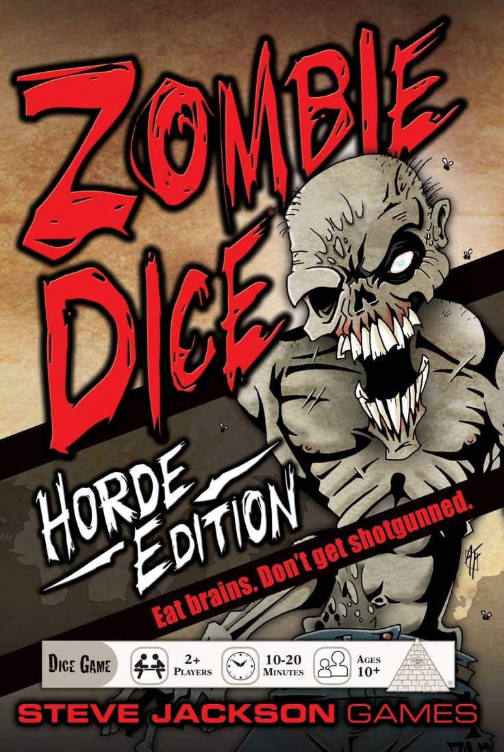 zombie dice horde edition cover
