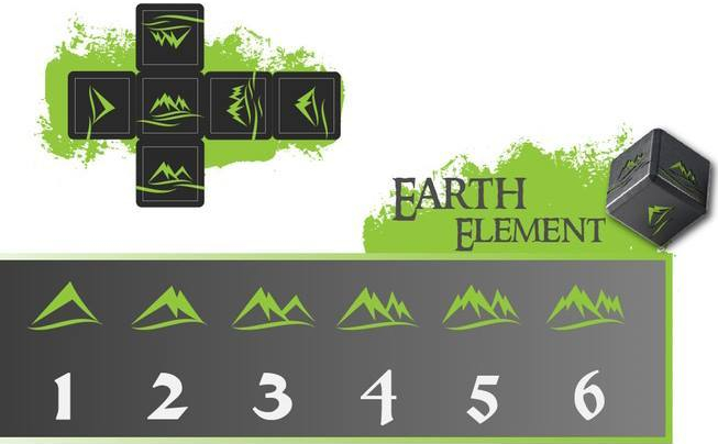 Elemental Dice Earth