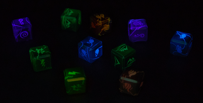 Elemental Dice set